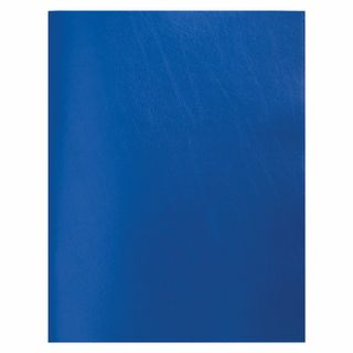 The notebook is bumvinil, A4, 80 sheets, staple, offset No2 ECONOM, cage, STAFF, BLUE