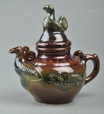 Large decorative teapot