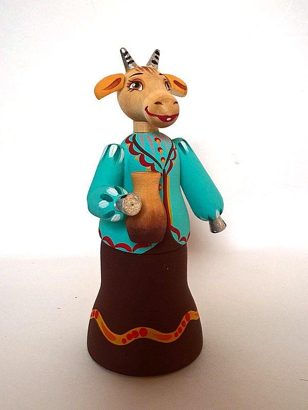 """Tver souvenirs / Tver theme """"Goat Dereza"""""""