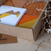 "Puzzle Tangram ""Autumn"" - developing children's wooden toy"