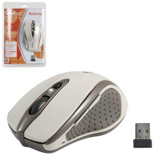 DEFENDER / Wireless mouse Safari MM-675, 4 buttons + 1 wheel-button, optical, beige