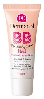 This multi-action cream for skin beauty No. 2 Nude , Dermacol BB Magic Beauty cream 8in1