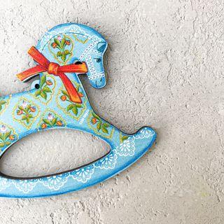 """Christmas tree toy """"Konyashka"""" (art 31)"""