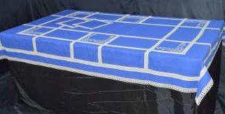 Table linen set - blue