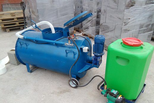 Agro-Stroy / Installation UM PB-500 (220 or 380) with built-in foam generator with / without compressor