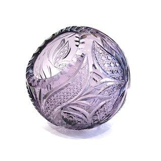 Vase - a basket of crystal