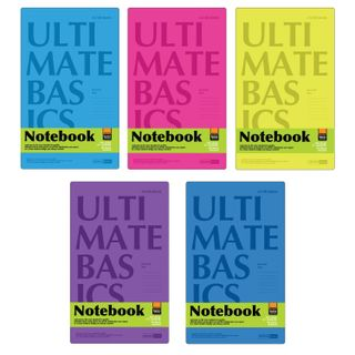 Notebook A5, 40 sheets, staple, plastic cover, cage, alt,