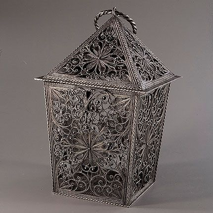 Souvenir 'Light' silvering, Kazakovo Filigree