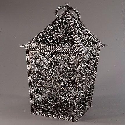 """Kazakov Filigree / Souvenir """"Lantern"""" silvering"""