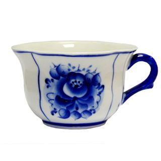 Cup tea 1st grade, Gzhel Porcelain factory