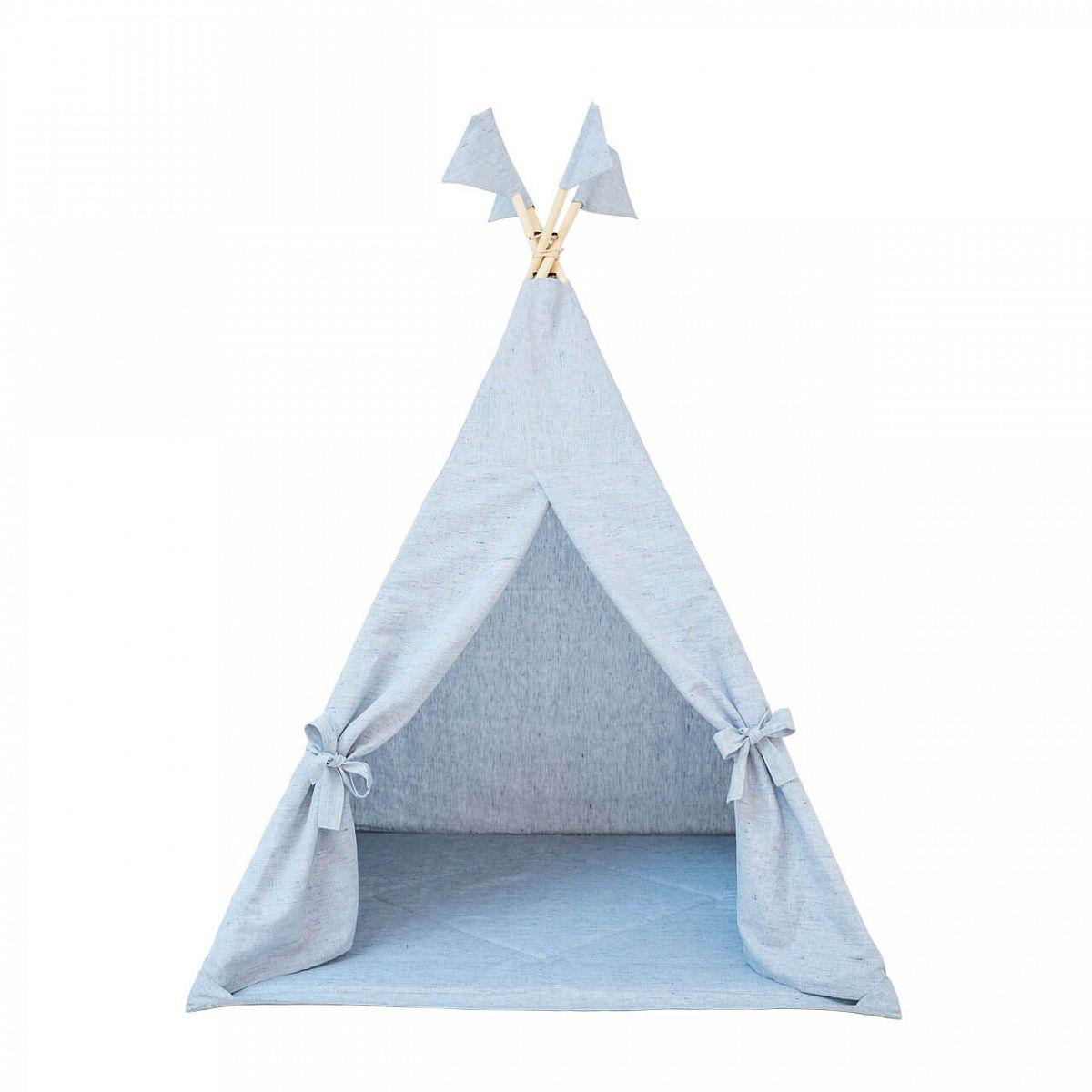 """Romana / Children's Wigwam """"Tipi Sky"""", blue"""