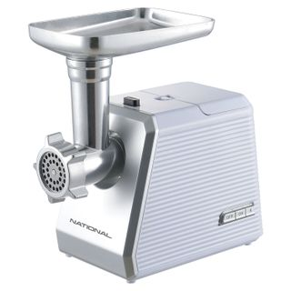 MEAT grinder NATIONAL NK-MG041, 2500 W, performance 2.7 kg/min, 1 nozzle, reverse, plastic, white