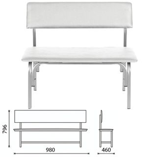 COMFORUM / Bench with backrest