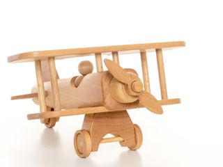 "BOCHART / Wooden toy ""Airplane"""