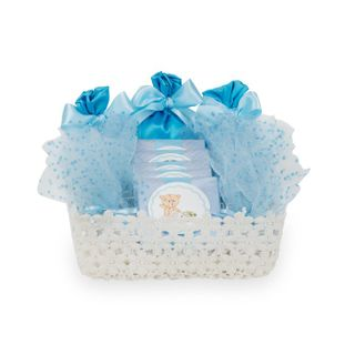 "The set of candies in the bag ""Blue the gift"""