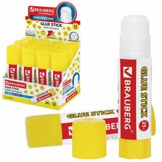 "Glue stick BRAUBERG ""Smileys"", 25 g, PVP,"