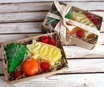 Handmade Soap Set Fruit Pig
