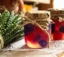 Handmade gift soap Berry jam