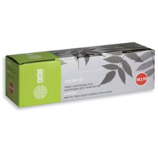 Toner cartridge CACTUS (CS-TK170) for KYOCERA FS-1320D / DN / P2035D / DN, yield 7200 pages.