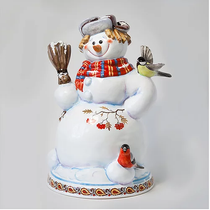 Snowman with a broom - interior product