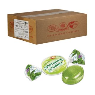 """ROT FRONT / Candy-caramel """"Eucalyptus-menthol"""", by weight, 5 kg, corrugated box"""