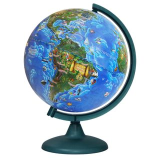 Children's globe with a diameter of 250 mm