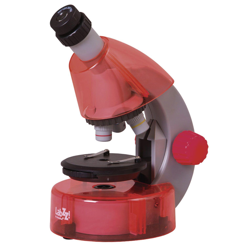 LEVENHUK / Children's microscope LabZZ M101 Orange, 40-640x, monocular, 3 objectives
