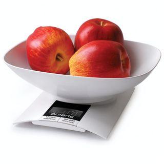 Scales kitchen POLARIS PKS 0323DL, electronic display, bowl, max weight 3 kg, tarcompensation, plastic