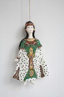Doll pendant, based on Bakst