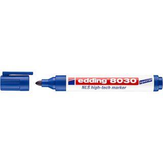 Edding / Navigation marker, non-corrosive, round nib, 1.5-3 mm Blue