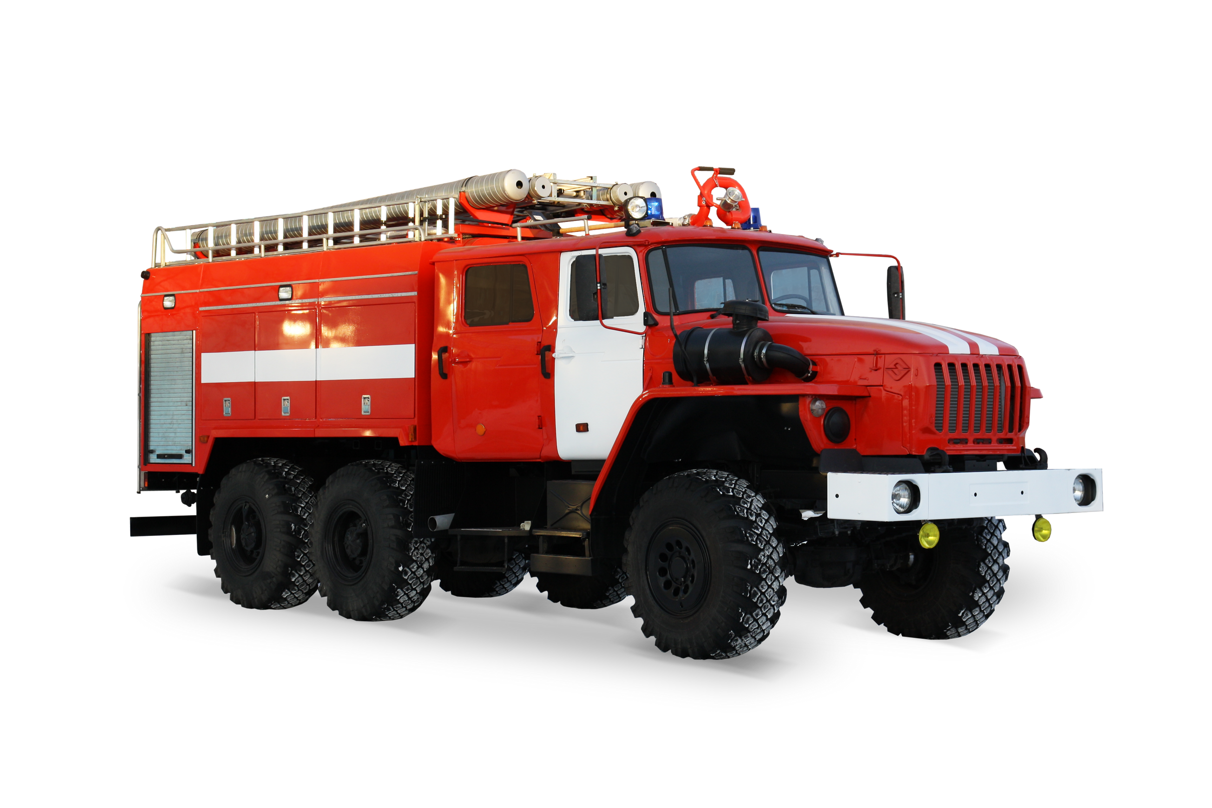 Tank truck fire-fighting AC 6 40 URAL-5557