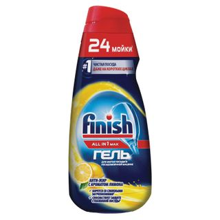 FINISH / Gel for washing dishes in dishwashers All in 1 MAX,