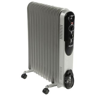 Oil heater RESANTA OMPT- 12N, 2500 W, 12 sections, white