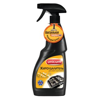 """Means for cleaning stoves, ovens, grills from fat / carbon deposits UNICUM (Unicum) """"Gold"""", spray 500 ml"""
