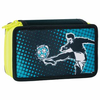 Pencil case TIGER FAMILY with the filling, 2 branches, 20 items,