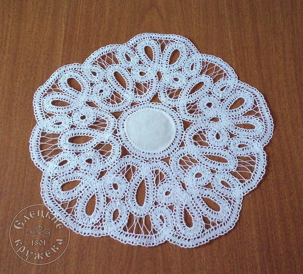 Yelets lace / Lace napkin С434