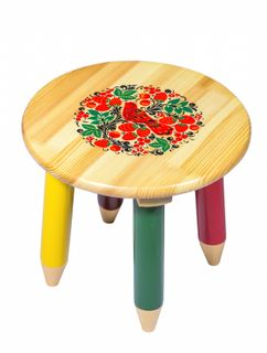 "Stool wooden ""Firefly"" 260x300 mm"