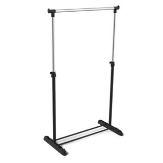 SHEFFILTON / Coat hanger SHT-WR4340, 1615х860х440 mm, plastic / metal, black / chrome