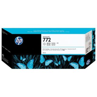 HP (CN634A) DesignJet Z5200 # 772 Light Gray Original Inkjet Cartridge 300 pages