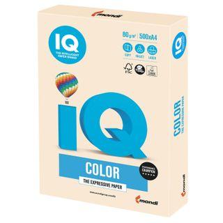 IQ COLOR / A4 paper, 80 g / m2, 500 sheets, pastel, cream