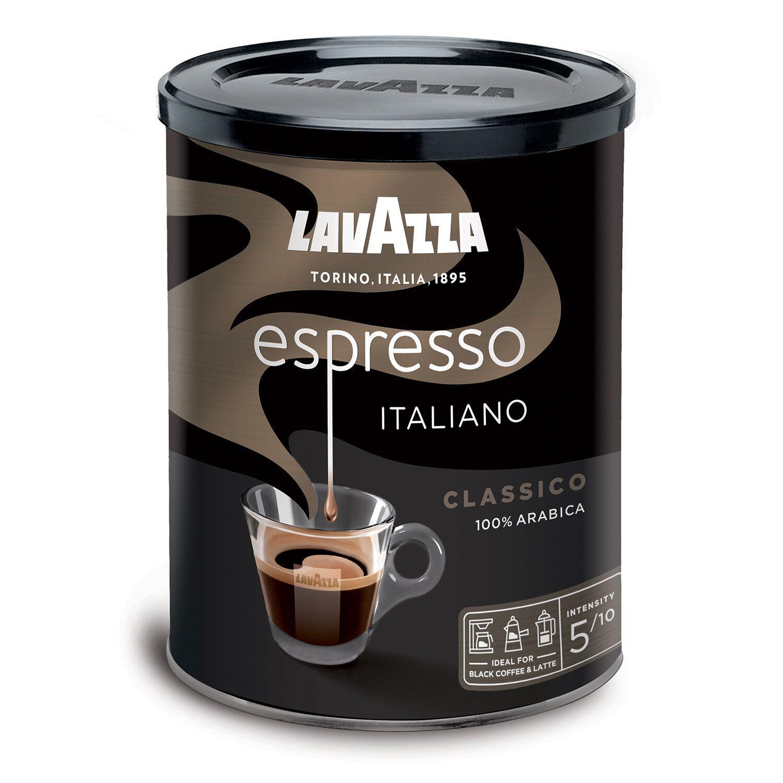 """LAVAZZA / Ground coffee """"Espresso Italiano Classico"""", tin can 250 g"""