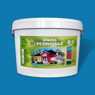 Paint rubber PromColor for concrete pools