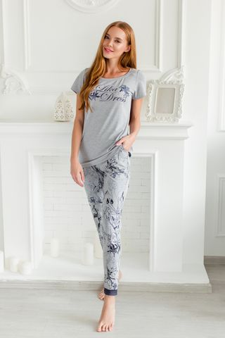 Pants Mysterious flowers 8S Art. 5988