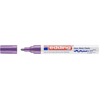Edding / Marker varnish glossy, round nib, 2-4 mm Purple