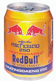Energy drink Redbull 250 ml