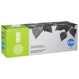 Toner Cartridge CACTUS (CS-CF210A) for HP LaserJet Pro 200 M276n / M276nw, black, yield 1600 pages