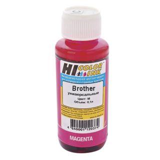 HI-COLOR ink for BROTHER universal, magenta, 0.1 l, water