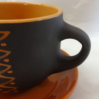 CUP TEA WITH Dish