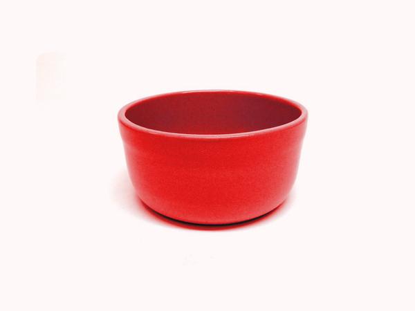 """Vyatka ceramics / Set of containers """"Julia"""" 0.2 l, 10 pcs. (coral)"""