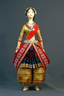 Doll gift. Dancer India